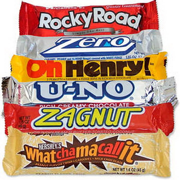 Nostalgic Candy Bar Mix