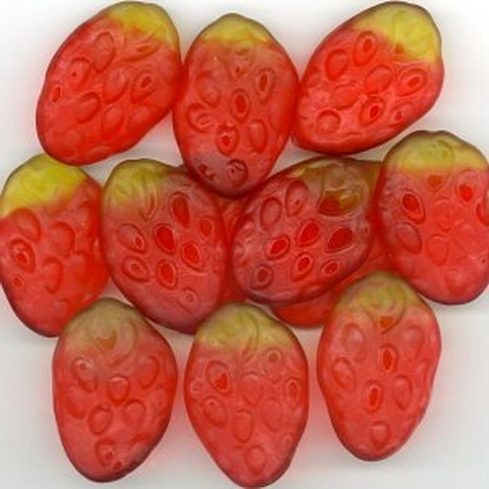 Gummi Strawberries
