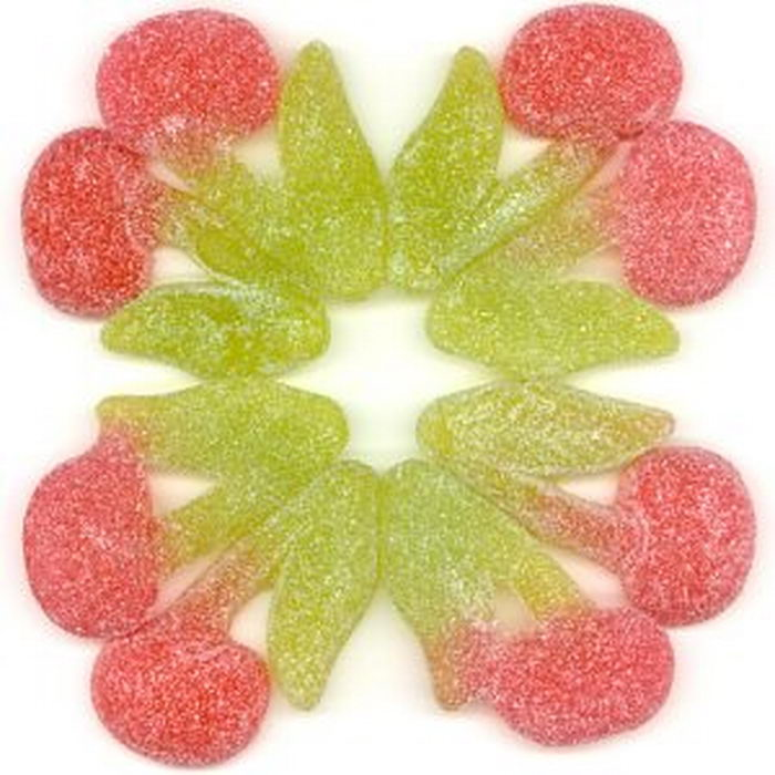 Gummi Sour Twin Cherries
