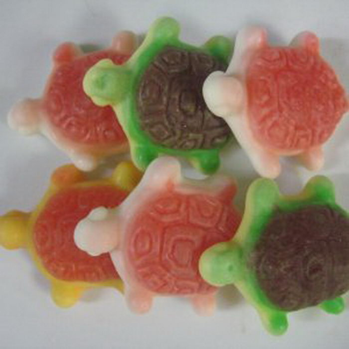 Gummi Filled Turtles