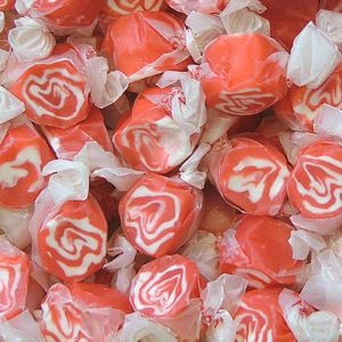Red Licorice Swirl Taffy
